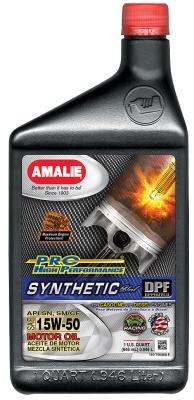 Amalie Pro High Performance 5W-50 .